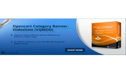 Opencart Category Banner-Slideshow (VQMOD)