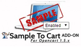 Sample To Cart ADD ON Enable/Disable Samples by ..
