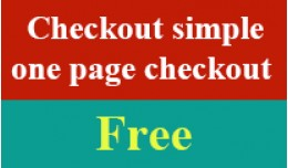 Checkout simple (one page checkout)