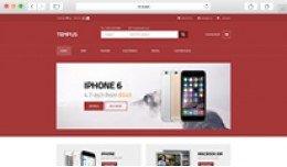 Tempus – A stylish OpenCart theme for mobile s..