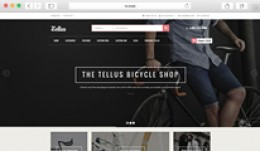 Tellus - Responsive OpenCart Theme For Bike Store