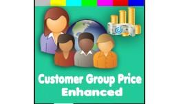 Customers Group Price Enhanced