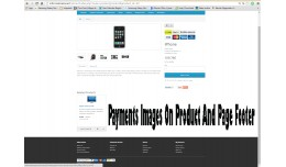 (Vqmod) Payment Image On Product And Page Footer..