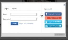 Awesome Login, Signup, Facebook, Google, Twitter..