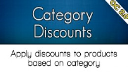 Category Discounts OC2