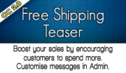 Free Shipping Teaser
