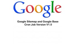 google sitemap google base cron job Multy-store