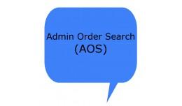Admin Order Search