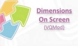 Dimensions On Screen