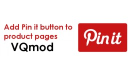 [VQmod] Add Pinterest Pin It Button to Product P..