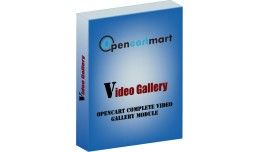 Opencart Video Gallery