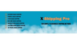 Combo Pack of X-shippingpro and X-Fee Pro
