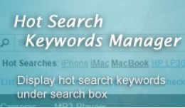 Hot Search Keywords Manager