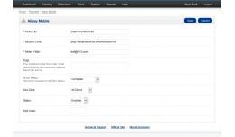 Alipay Mobile Payment (支付宝手机[WAP]支付)
