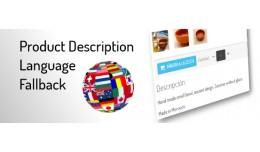 Product Description Language Fallback