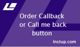 Order Callback (Buy one click) FREE