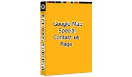 Special Google Map on Contact Us Page
