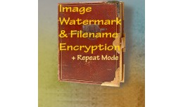 Image Watermark and Filename Encryption