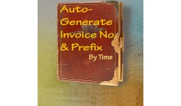 AutoGenerate Invoice Number and Prefix