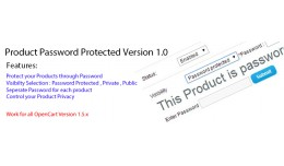 Product Password Protected Version 1.0