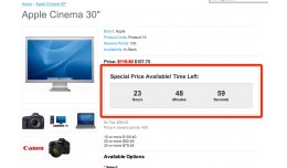 Special Price Time Count Down