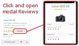 [OCmod]Show Quantity Reviews - Modal Comments