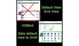 Default View - Grid View