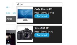 Auto search with add to cart