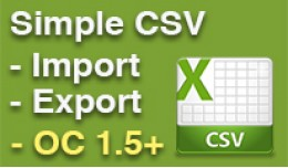 Simple CSV Import / Export, Any Database Table, ..