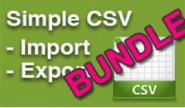 Simple CSV Import / Export, Any Database Table B..