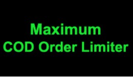 Maximum COD Checkout limiter