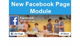 New Facebook Page Module