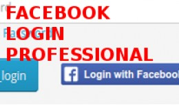 Facebook login pro integrated with checkout, log..
