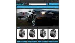 OpenCart Responsive Car Accessories template