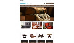 OpenCart Responsive Furniture template