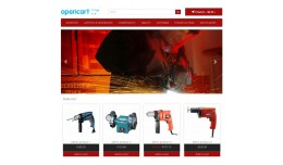 OpenCart Responsive Tools template