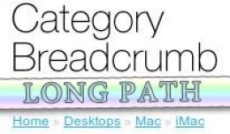 Category Breadcrumb Long Path [VQMod]