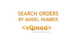 Search Orders/Customers by ordered pruduct model..