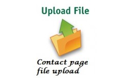 Contact Page File Upload