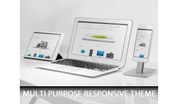 Custom Multipurpose Responsive Theme