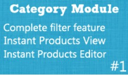 Category Extended Features - Time Saver Pack