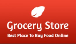 Grocery Store OpenCart Theme in Red Color