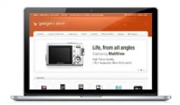 Gadgets Store Orange Color Opencart 1.5 Theme