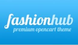 Fashion Hub Opencart Premium Theme in Blue Color