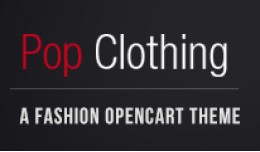 Pop Clothing OpenCart Theme