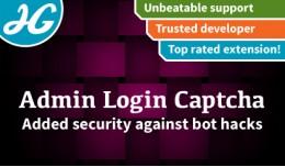 [VQMOD] Admin login Captcha 1.5.X - 2.X