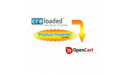 Cre Loaded to Opencart