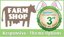 Farm Shop Theme - Responsive with Options
