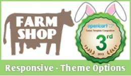 Farm Shop Theme - Responsive with Options
