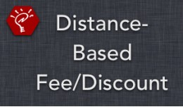 (1.5.x) Distance-Based Fee/Discount